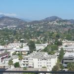 View of mountains in Glendale, towards Glendale Community College