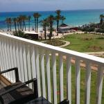 Balcony in our room