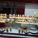 Some of starters at the buffet