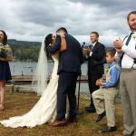 Wedding on the lake whatcom