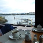 view from Blue Crab restuarant