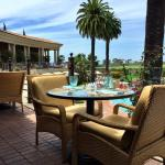 Poolside Pelican Hill Restaurant
