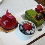 colorful and delicious dessert in Lobby restaurant.. great tea time..