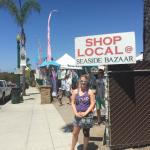 Standing in front of the Seaside Bazaar-must shop Weekends! Encinitas, CA 101 hwy/PCH