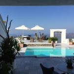 Amazing views - probably the best spot in Santorini!