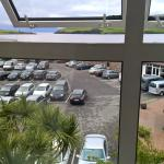 Great view of the car park, glad I paid extra for a superior room......