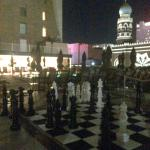 Roof top chess board