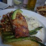 Salmon at the Mad Batter