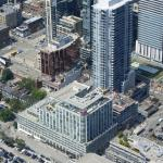 The Hotel from the CN Tower Restaurant