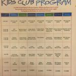 Kids Club Program