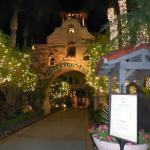 Main entrance to Mission Inn