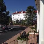 The Stanley Hotel in the morning.