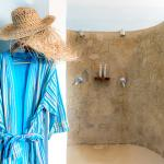 Ocean Penthouse master bathroom twin shower