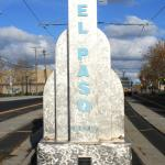 Del Paso Blvd Monument comming from Downtown Sacramento
