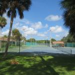 it has tennis courts too, if you like that kind of thing.