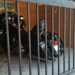 motorcycle lockers for Basin Park guests