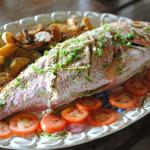 Catch of the day (Red Snapper), Mt. Plaisir Estate Hotel
