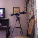 Telescope In Sitting Room