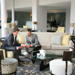 Do business in our refurbished lobby!