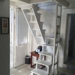 Stairs in Lofted Room 5