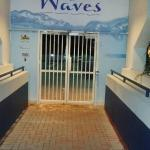 Entrance to the Pool and Gym