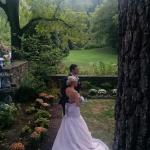 Garden wedding at the Club at Hillbrook