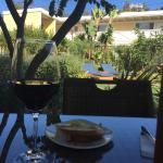 We really enjoy our time in the courtyard;wine and cheese is the best!!!!