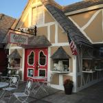 Typical shop front in Solvang