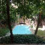 Small pool outside our room