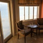 The Tuscany room and ocean view.