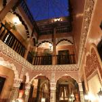 Riad Mille et une nuits Patio By nigths