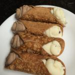 When your daddy is sick and stuck at home....what does he need, what cannoli make him feel bette