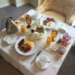 Photo of room service breakfast