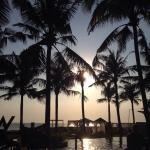 A beautiful Seminyak sunset