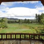 View of the golf course from the patio