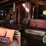 Inside view of large cabin