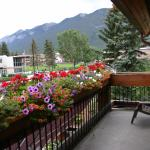 Porch of room 246 on Banff Ave