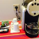 MACHINE NESPRESSO ET THE KUSMI