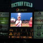 Cowboy Bob sings Take Me Out to the Ballgame