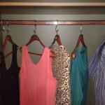 Only 5 hangers in a double wardrobe !