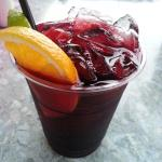 Sangria at the Captain's Restaurant!!