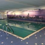 Swimming pool on the 42nd floor