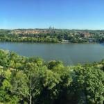 The view of the Potomac & Georgetown from the 14th Floor