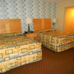 Two queen beds in motel section