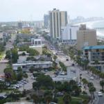 Looking north from the Westgate Tower along Ocean Blvd.