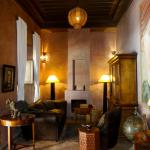 Library area of the Riad
