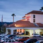 Enjoy free breakfast at our hotel which is near Six Flags Magic Mountain.