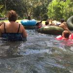 the lazy river had lots of tubes available - but bring your own for small children
