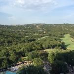 gorgeous view of Texas hill country