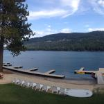 View from room at Donner Lake Village